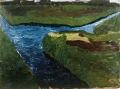 Modersohn-Becker, <i>Moor Canal</i>, 1900. <br/>Paula Modersohn-Becker Stiftung, Bremen.